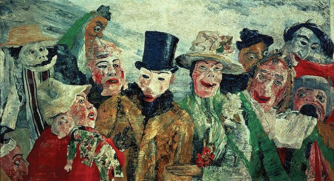 the intrigue by James Ensor 1890